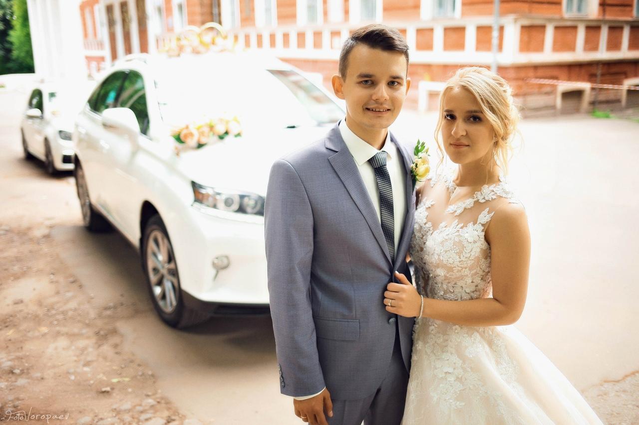 Бракосочетание и венчание Владимира и Юлии